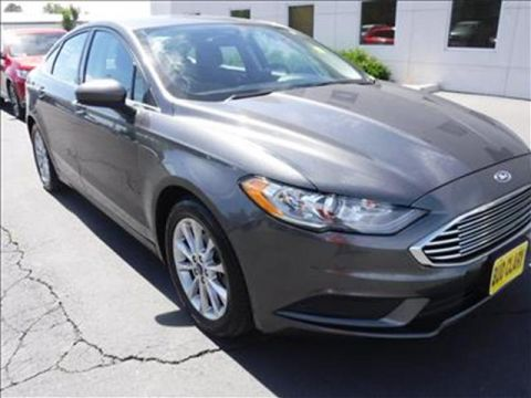 2017 Ford Fusion SE 4dr Front-wheel Drive Sedan
