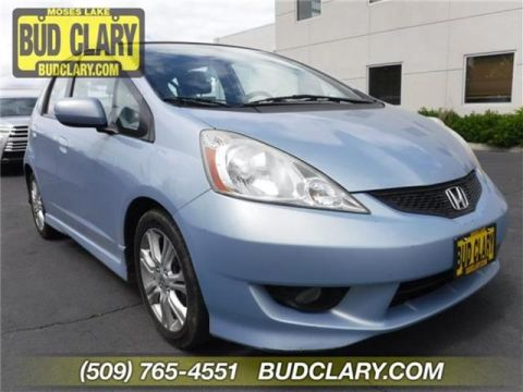 2009 Honda Fit Sport (A5) 4dr Front-wheel Drive Hatchback